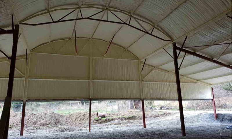 Shed Sprayfoam Insulation