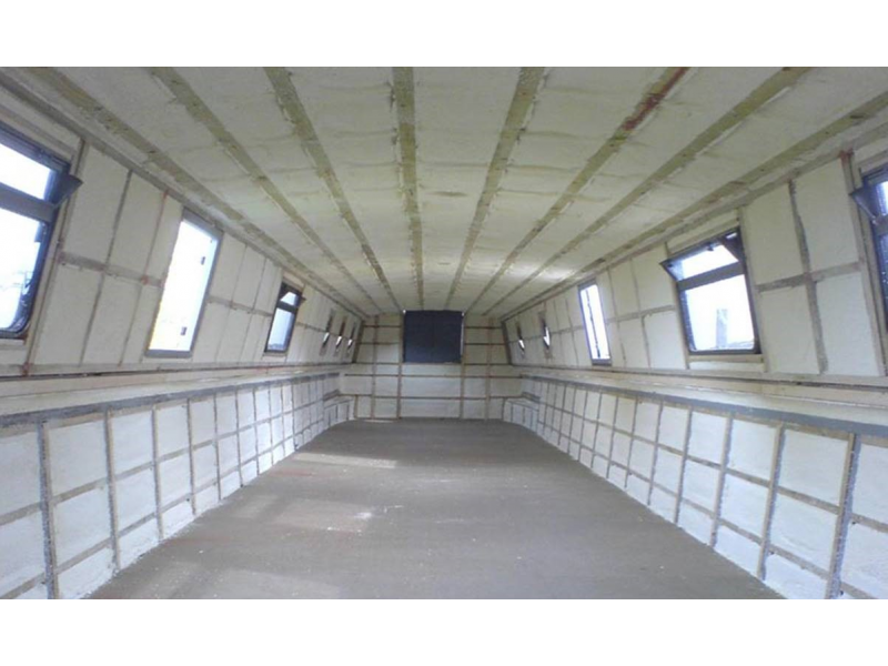 Barge Spray Foam Insulation