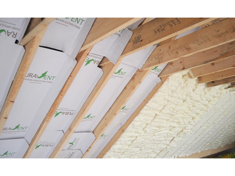 New Build Sprayfoam Insulation